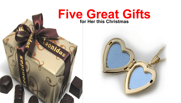 Five Great Gift Ideas For Her This Christmas Great Gift