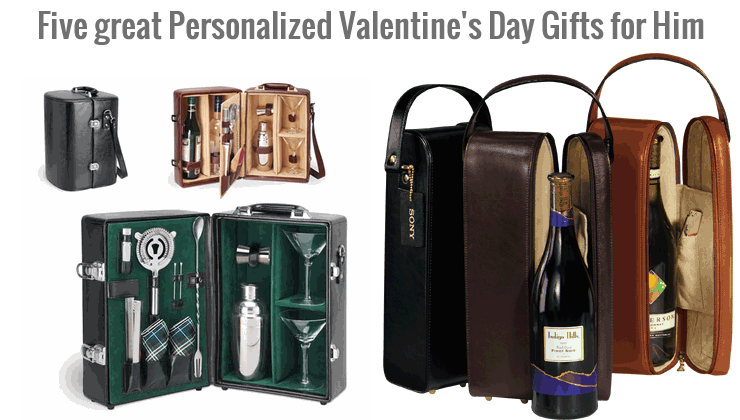 Five great Personalized Valentine's Day Gifts for Him