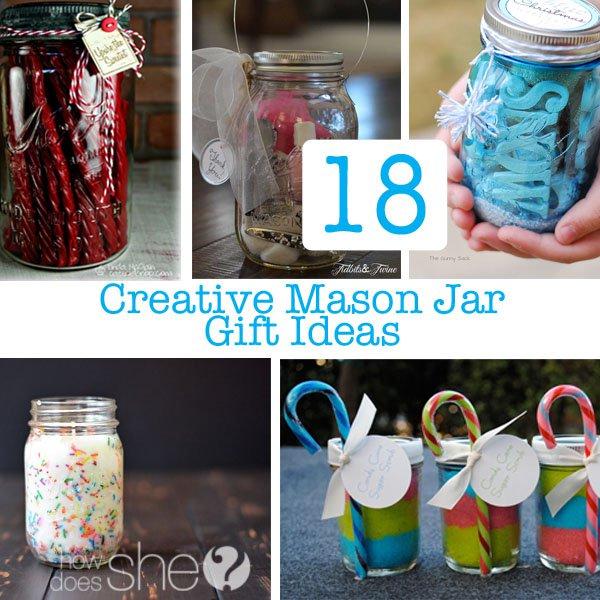 18 Creative Diy Mason Jar Gifts Great Gift Ideas