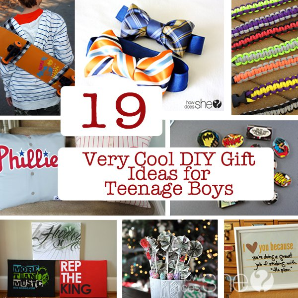 19 very cool diy gift ideas for teenage boys great gift ideas. Black Bedroom Furniture Sets. Home Design Ideas