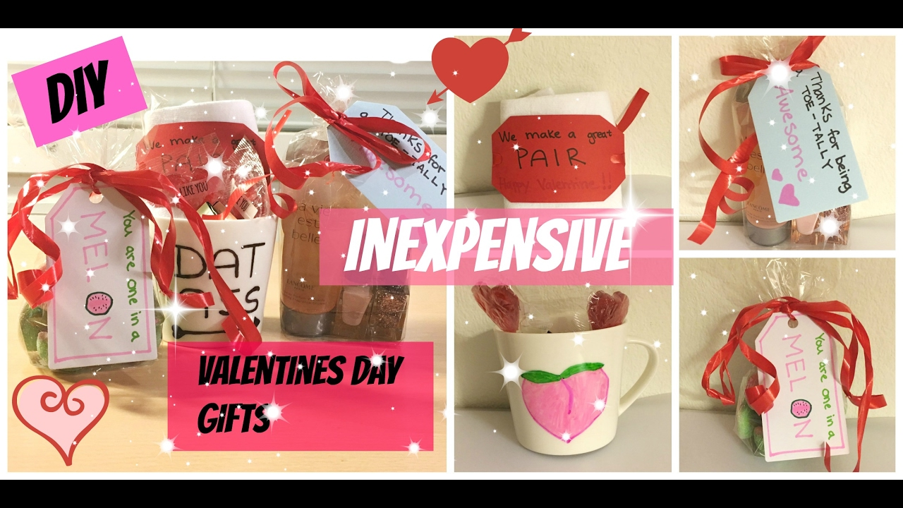 Affordable Valentine's Day Gift Ideas