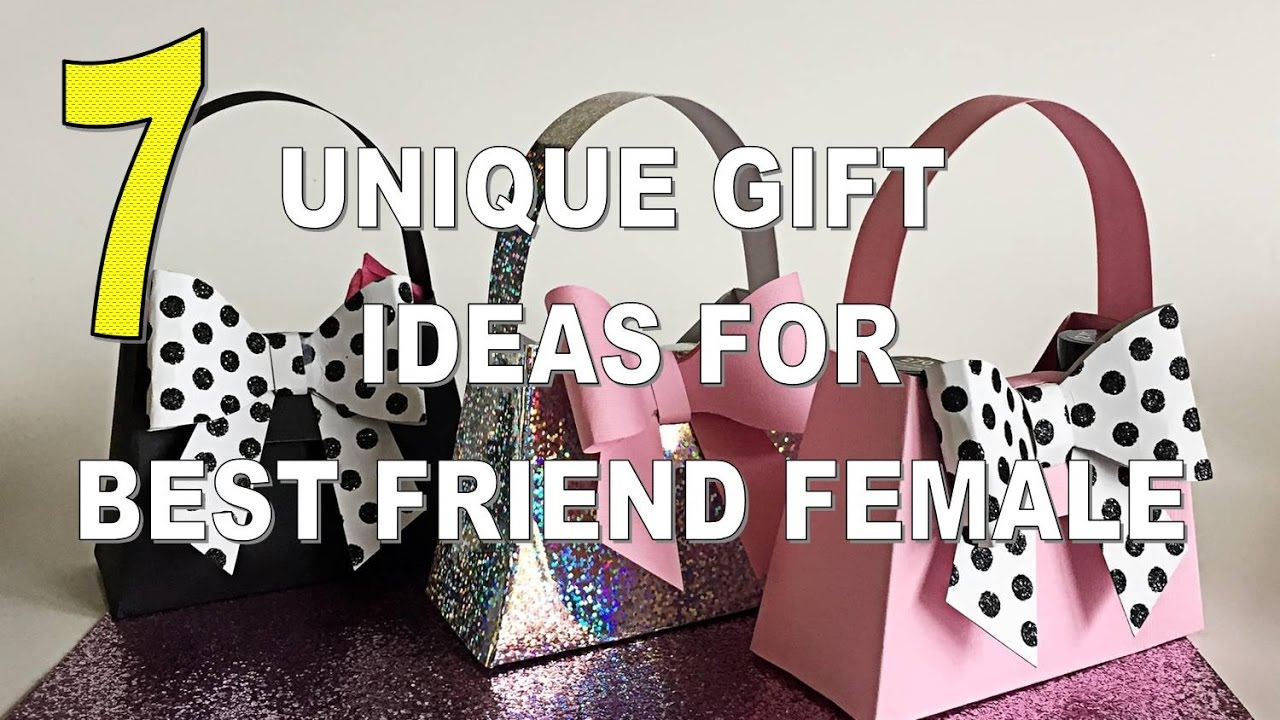 7 Best Unique Gift Ideas For Best Friend Female Great Gift Ideas