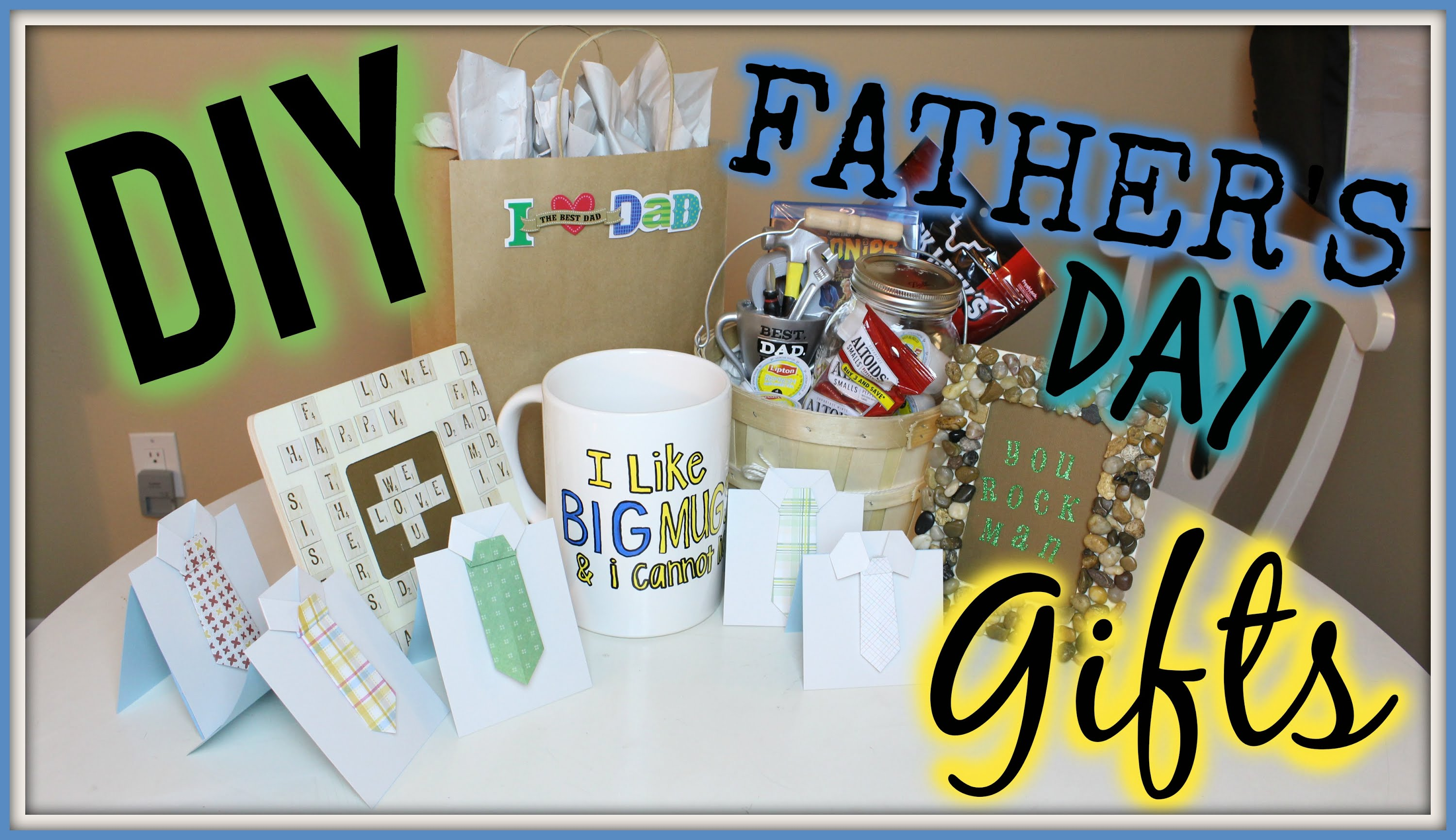 9 Diy Fathers Day Gift Ideas Great Gift Ideas