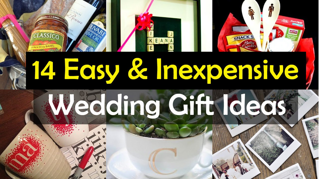 Different Wedding Gift Ideas: 14 Awesome Wedding Gift Ideas